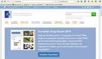Serwis internetowy Europejskiego Centrum Monitorowania Narkotyków i Narkomanii