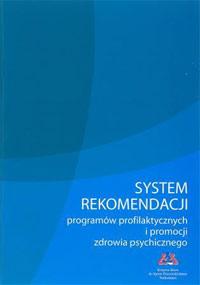 System rekomendacji programów profilaktycznych i promocji zdrowia psychicznego