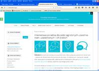 Strona poradni internetowej Krajowego Biura do Spraw Przeciwdziałania Narkomanii
